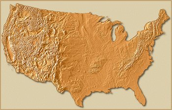 U S Map Floor Piece Puzzle White Mountain PuzzlesWhite - Us map mountains
